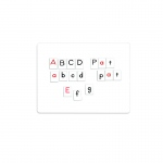 (2 Pk) Magnetic Alphabet Tiles