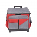 Red Rolling Cart/organizer Bag