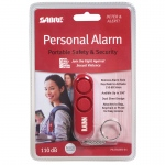 Red Personal Alarm Supports Rainn