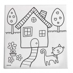 Home Sweet Home Paint/create Kit Canvas