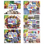 Crayola Concepts 6 Book Set
