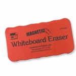 4x2 Red Magnetic Whiteboard Eraser