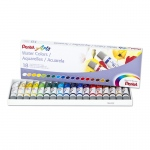 18 Color Pentel Arts Watercolor Set