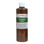 16oz Bronze Metallic Tempera Paint Handy Art