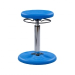 Blue Grow With Me Kid Wobble Chair Adjustable