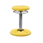 Yellow Grow With Me Wobble Chair Adjustable