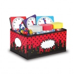 Superhero Storage Bins Small 8x11x5