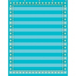 Light Blue Marquee 10 Pocket 34x44 Pocket Chart