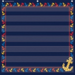Anchors 7 Pocket 28x28 Pocket Chart