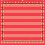 Red Marquee 7 Pocket Chart 28x28