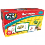 Power Pen Learning Cards Short Vowels
