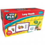 Power Pen Learning Cards Long Vowels