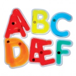 Light Learning Uppercase Letters