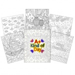 2 Pocket 6pk Child Designs Paper Ucolor Folders