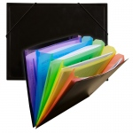 Rainbow Document Sorter Black/multi