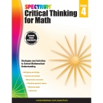 Critical Thinking For Math Wb Gr 4