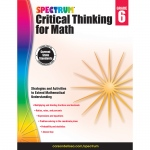 Critical Thinking For Math Wb Gr 6