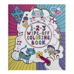 Girl 2 Wipe Off Coloring Book