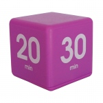 Purple 30 Minute Preset Timer Cube