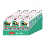 24 Boxes Of 24 Crayons Asstd Colors