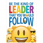 Be The Kind Leader Inspire U Poster Emoji Fun