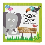 The Zoo Crew Textured Board Book