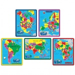 Continent Puzzle Combo Pack