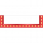 Red Marquee Small Magnetic Pockets