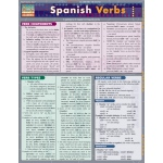 BarCharts Spanish Verbs Quick Study Guide