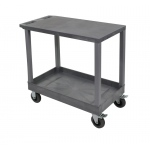 "Luxor 32"" x 18"" Cart - Flat/Tub Shelf with 5"" Casters"