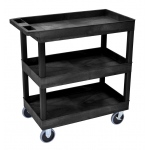 "Luxor 32"" x 18"" Tub Cart - Three Shelves"