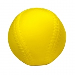 9in Yellow Coated Foam Baseball High Density