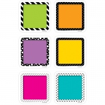 3in Colorful Cards Cutout Bold And Bright