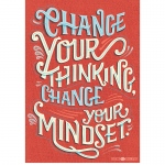 Change Your Thinking Poster Inspire U