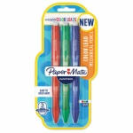 3pk Color Mechanical Pencil Traditional Clearpoint