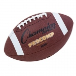 Intermediate Size Pro Comp Football 2 Ply Bladder Tacky