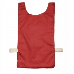 12pk Red Heavyweight Sports Pinnies