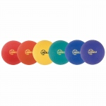 8.5in 6 Pc Playground/kickball Set Assorted Colors
