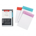 Asst Colors Index Card Page Marker