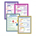 Avoiding Math Errors Poster Set