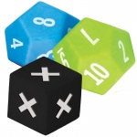 3 Pack Multiplication Dice