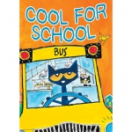 Pete The Cat Cool For School Poster Positive
