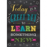 Great Day To Learn Positive Poster