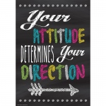Your Attitude Positive Poster