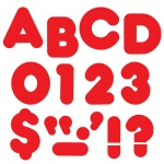 (6 Pk) Ready Letters 2in Casual Red