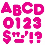(6 Pk) Ready Letters 2in Casual Deep Pink