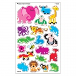 (12 Pk) Awesome Animals Supershapes Stickers Large