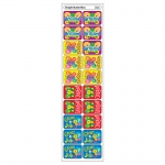 (12 Pk) Applause Stickers Bright Butterflies 100 Per Pk Acid-Free