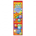 (12 Pk) Applause Stickers Birthday Time 30 Per Pk Acid-Free Lg Size