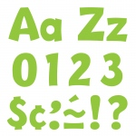 (3 Pk) Ready Letters 4in Lime Playful Combo